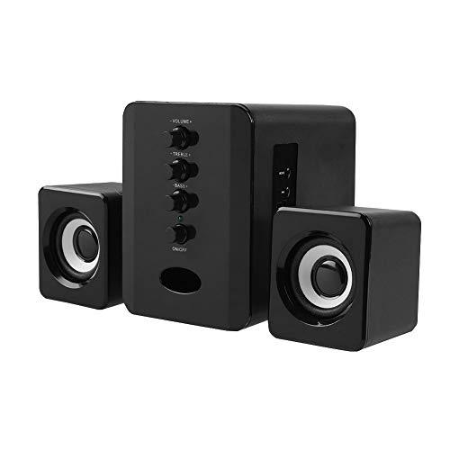 Altavoz Bluetooth de escritorio inalámbrico con sonido estéreo fuerte columna altavoz para computadora