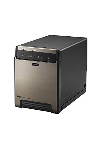 Logitec Type-C対応 HDDケース 3.5インチ 2.5インチ SSD (台用) USB3.2(Gen2) ガチャベイ ハードディスクケース LHR-4BNHUC