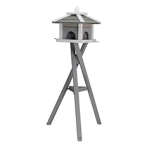Futterhaus mit Ständer 55810 Maße: 46 × 35 × 46 cm/1,35 m
