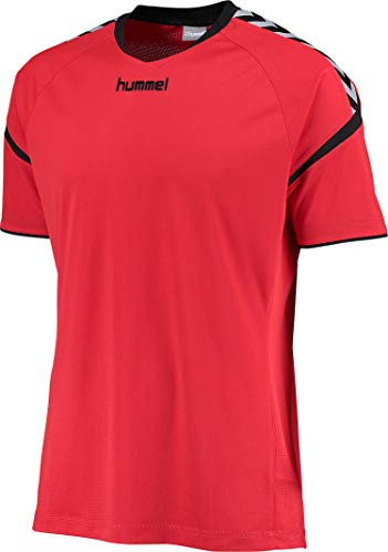 hummel Kinder Auth. Charge Short Sleeve Poly Jersey Trikot,rot(True Red),164-176