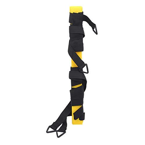 SJHFG Agility - Escalera de entrenamiento de velocidad para fitness y fútbol, accesorios para entrenamiento al aire libre, 3 metros, 6 nudos