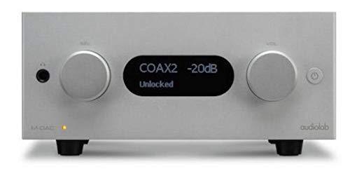 M-DAC+ supporta DSD tramite l'ingresso USB e risoluzioni fino a 384kHz/32-kbit e DSD256 chipset DAC a 32 bit di riferimento di Sabre ES9018 leader di mercato Orologio master discreto per ridurre al minimo il jitter