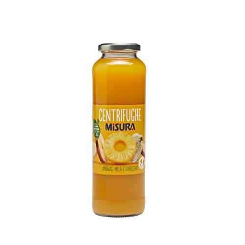 Misura Centrifughe Frutta e Verdura Natura Ricca| Ananas, Mela e Finocchio | Bottiglia 690 ml