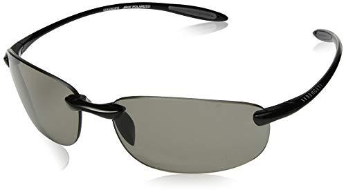 Serengeti Nuvino Polar Sunglasses,Shiny Black with CPG Lenses