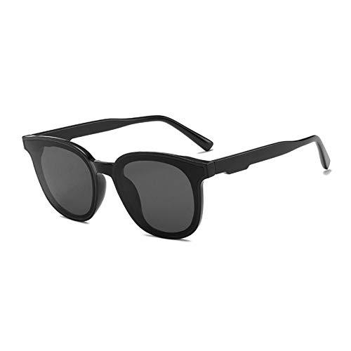 ZZOW Gafas De Sol Verdes Fluorescentes De Moda para Mujer, Diseñador De Marca, Ojo De Gato Vintage, Gafas De Sol Redondas para Hombre, Gafas De Sol Rosa Y Azul