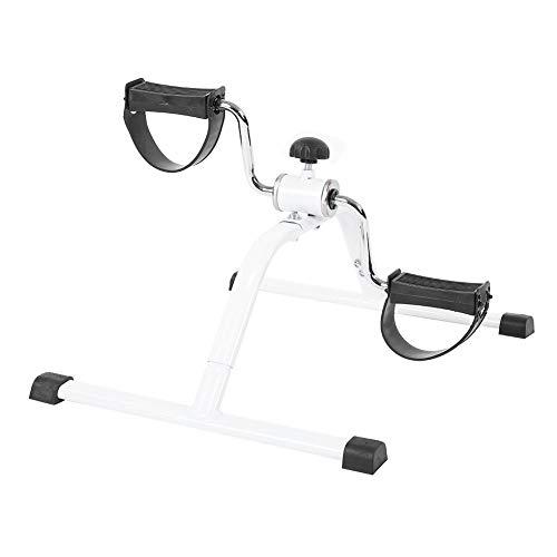 Tragbarer Pedaltrainer Mini Bike Heimtrainer Armtrainer Beintrainer Trainingsgeräte für Arme, Beine Indoor-Übungen Bewegungstrainer Fahrradtrainer für Senioren und Junge Ausdauertraining