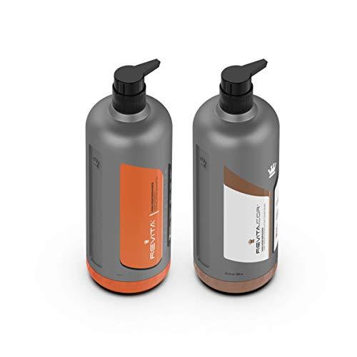 DS Laboratories Revita HAARWUCHSSTIMULIERENDER Shampoo für Männer und Frauen - Dht Blocker W/Free Revita-Gel für dickeres Haar - Haarkräftigungs Shampoo & Conditioner Bundle