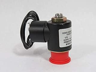 0.155 Cv Gems Sensors A2015-C203 303 Stainless Steel General Purpose Solenoid Valve 3//32 Orifice 12 VDC Voltage 175 psig Pressure