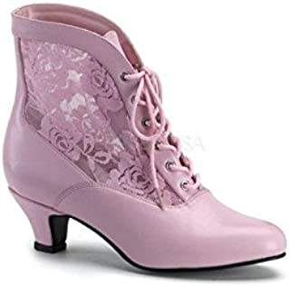 PleaserUSA Womens Dame-05 Shoes Ankle Boots