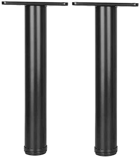 Table legs Hårdvara delar barräknare ben justering höjd ände möbler ben soffa ben skrivbord ben garderob ben bänk ben stol ben set med 2 för glas, skrivbord, garderob möbler komponent