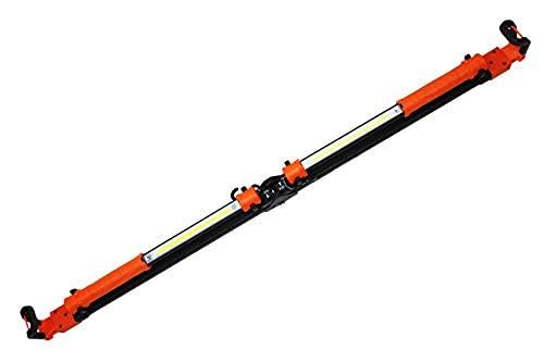 K Tool International Heavy Duty Folding Underhood Work Light Aluminum Construction 49 Inch to 78 Inch Telescoping New Hook Design with Detachable Lights