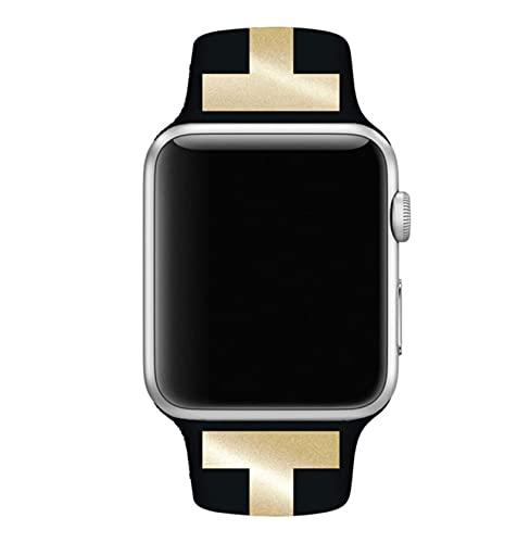 Correa para apple watch band 44mm 40mm iwath band 42mm 38mm pulsera de silicona correa de reloj para apple watch series 6 se 5 4 3 2