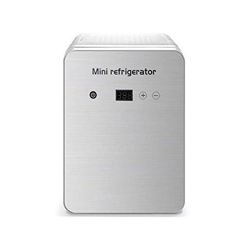 Réfrigérateur portable / mini-congélateur / petit réfrigérateur de voiture - 12L-55W, réfrigérateur de maquillage de soins de la peau, économie d'énergie et muet, refroidissement et chauffage, trois