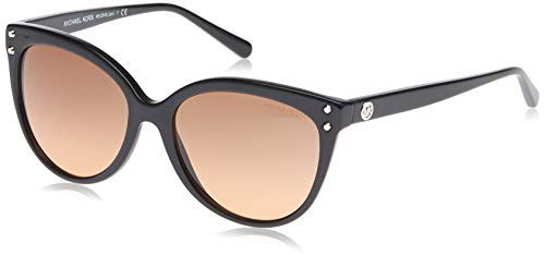 Michael Kors Damen Jan 317711 55 Sonnenbrille, Schwarz (Black/Grey Gradient)