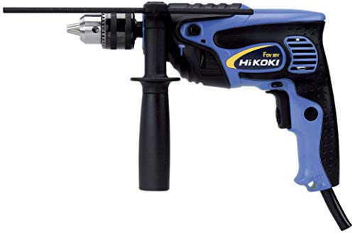 HiKOKI(ハイコーキ) 旧日立工機 ?振動ドリル AC100V 720W コンクリート18mm/鉄工13mm/木工30mm ケース付 FDV18V