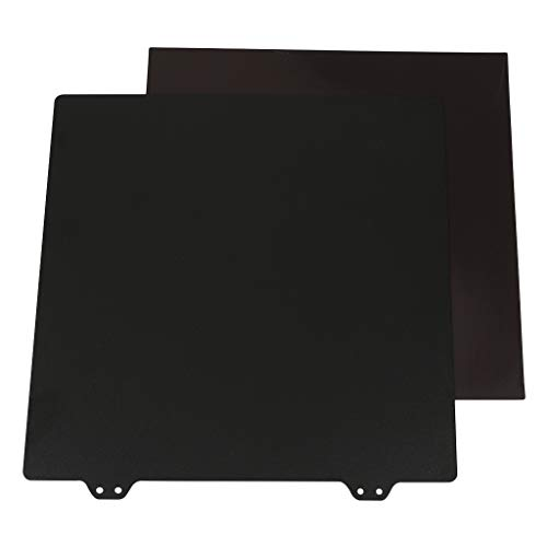 B Blesiya 220X220mm Spring Steel Sheet Heated Bed Platform + Plate Sheet B