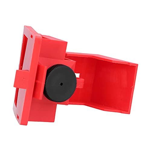 Bloqueo de interruptor de abrazadera, diseño de hoja humanizada Kit de bloqueo de interruptor de un solo polo suave para mangos pequeños de 42 mm para electricidad industrial