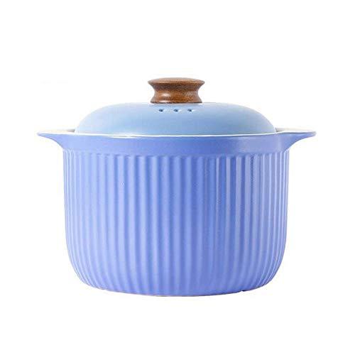 SGSG Casserole Casserole en Fonte avec couvercles Casserole Casserole avec Couvercle pour Four Casserole en céramique Pyrex Cuisinière à gaz Guangfu Pot/Cuisinière électriqu