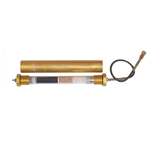 TUXING Diving Seperator 4500Psi PCP Air Compressor PCP Oil Water Filter 300Bar L350mmOD49mmID36mm