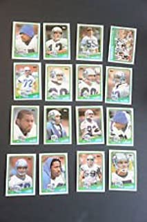 1988 Topps Seattle Seahawks Complete 16 Card Set Shipped in an Acrylic Case Includes: 130 Seahawks Team Leaders 131 Dave Krieg 132 Curt Warner 133 John L Williams 134 Bobby Joe Edmonds 135 Steve Largent 136 Raymond Butler 137 Norm Johnson 138 Ruben Rodriguez 139 Blair Bush 140 Jacob Green 141 Joe Nash 142 Jeff Bryant 143 Fredd Young 144 Brian Bosworth Rookie Card (RC) 145 Kenny Easley