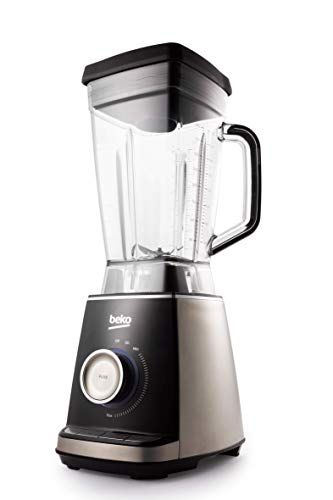Beko Power Blender High Speed blender 1600 W, 2 liter, Inox/Zwart