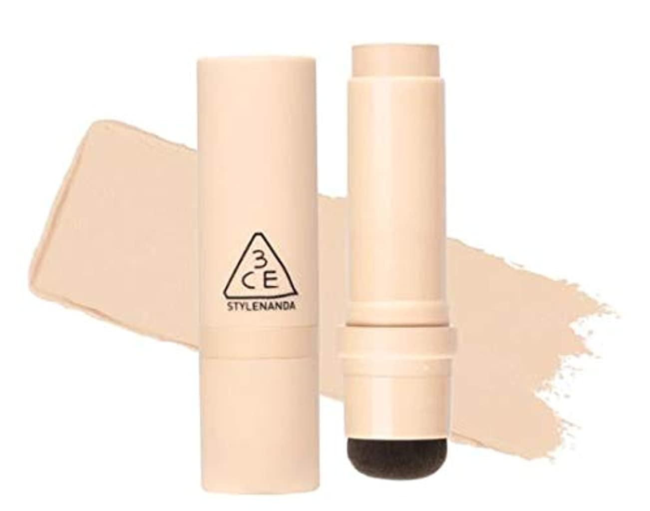 ロバラダ消去3CE LAYER COVERING STICK FOUNDATION # Light Vanilla [並行輸入品]