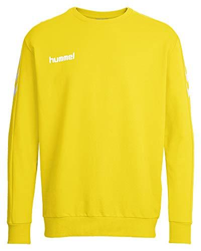 Sudadera amarilla Hummel