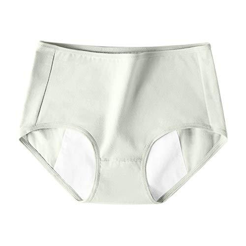 Amaeen Bragas Mujer de Período Menstrual a Prueba de Fugas Baratas Ropa Interior de Señoras Pantalones Cortos de Moda Transpirable de Cintura Media Sin Costuras