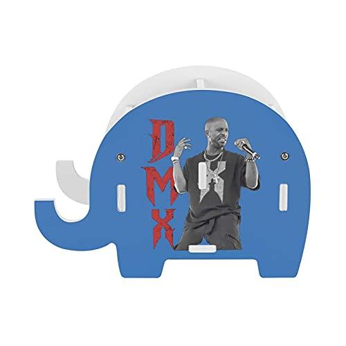 Dmx - Soporte para bolígrafo con diseño de elefante con soporte para teléfono móvil, multifuncional para oficina, caja de almacenamiento decorativa.