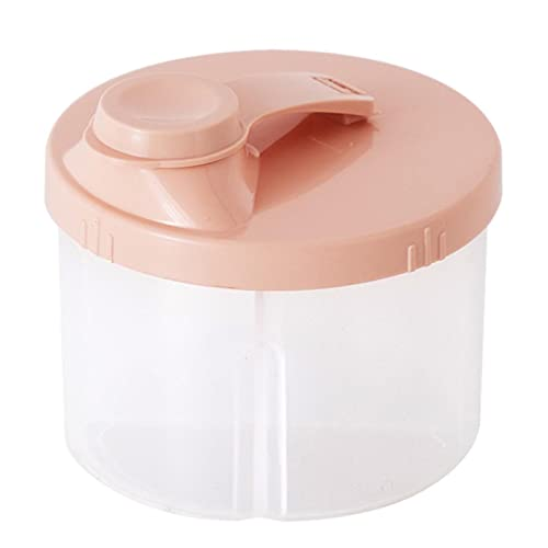 luukiy Portátil de Leche en Polvo,Sellado Caja Transparente Leche en Polvo, Caja de Almacenamiento de Leche en Polvo, para Almacenar Leche En Polvo, Frutas y Alimentos para Bebés