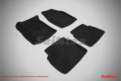 Seintex SX82167 3D Lux tapijt, grijs, 4 stuks