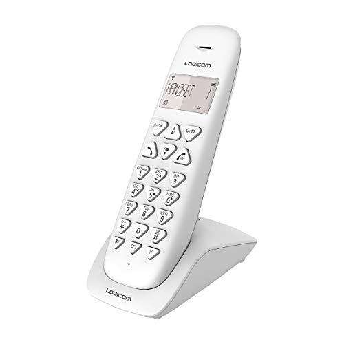 Telefono senza fili fisso - telefono cordless con segreteria - telefoni analogici e DECT - Solo Logicom VEGA 155T Wireless fisso con Bianco Answering