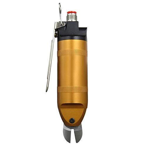 LKK-KK Aire pinza de 2. 0mm alambre de hierro Shear pinza neumática de aire crimpadora HS20- S5 cuchilla 14 medidor de aire Shear herramientas de corte