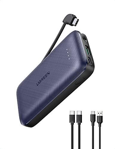 Ugreen Mini 10000mAh - QC 3.0 + USB-C PD 20W 🔁⚡✅