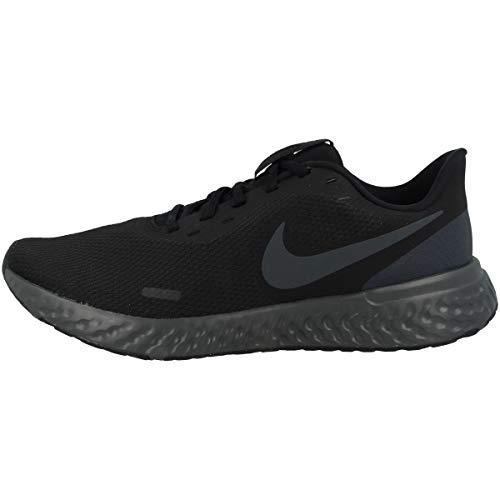 Tênis de corrida masculino Nike Revolution 5, Preto/Antracite., 12