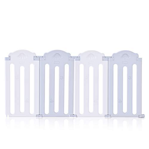 Baby Vivo Parque corralito plegable puerta robusto plastico bebe barrera de seguridad...