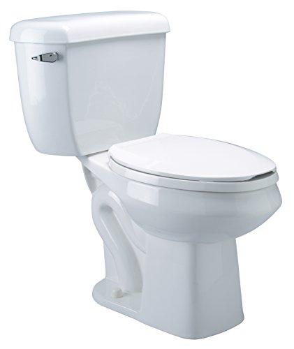 Zurn Z5571 Elongated Pressure Assist, 1.0 gpf, Two-Piece Toilet