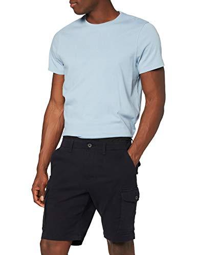 Amazon-Marke: MERAKI Herren Cargo Shorts, Blau (Navy), M