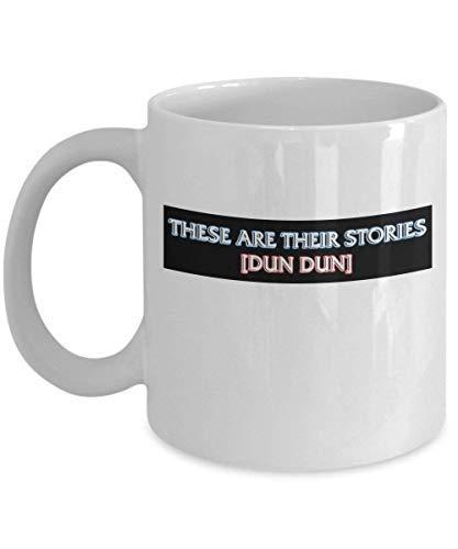 Dun Dun Wet en Bestel Koffie Mok Cup (wit) 11oz Wet en Bestel SVU Speciale Slachtoffers verenigen Geschenken Merchandise Accessoires Shirt Poster Sticker Pin Vinyl