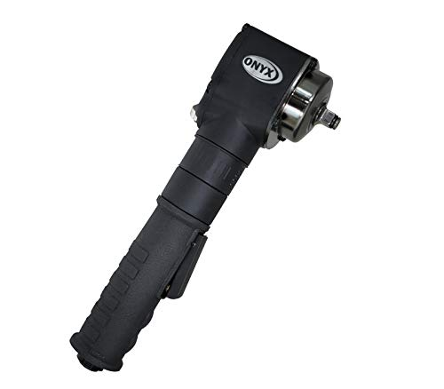 Astro Pneumatic Tool 1838 ONYX 3/8' Nano Angle Impact Wrench - 415ft/lb