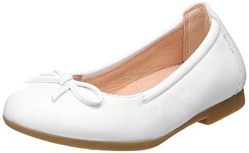 Unisa CRESY_20_NT, Ballerine Bambino, Bianco (White White), 32 EU