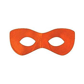 Amscan Fabric Super Hero Domino Eye Mask 1 Orange