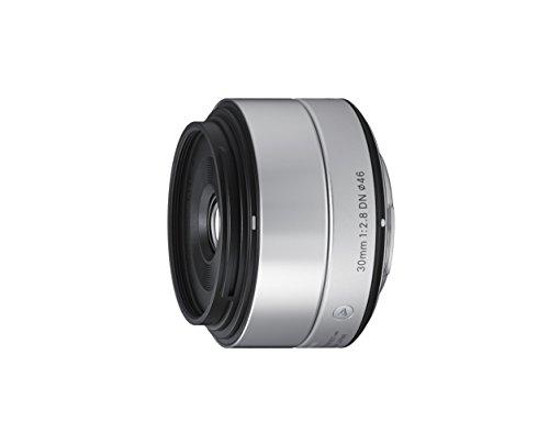 Sigma 30mm F2,8 DN Art Objektiv (46mm Filtergewinde) für Sony-E Objektivbajonett silber
