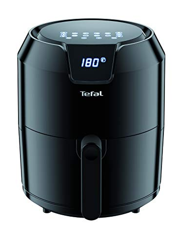 An image of the Tefal Easy Fry Precision EY401840 Digital Health Air Fryer, Black, 4.2 Litre, 6 Portions
