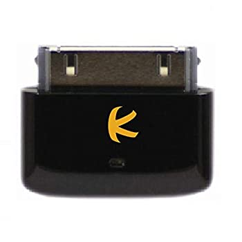 KOKKIA i10s  Black  Tiny Bluetooth iPod Transmitter for iPod/iPhone/iPad with Authentication Remote controls and local iPod/iPhone/iPad volume control capabilities Plug and Play Works with AirPods.