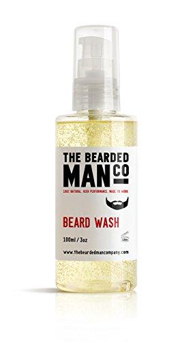 Lavage de la barbe