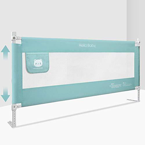 Bed guardrail HXLQ Cerca De La Cama, Protector De Cama De Malla Bebé,Evite CaíDas Al Dormir, Barandilla De Cama PortáTil, 1,5 M ~ 2,0 M