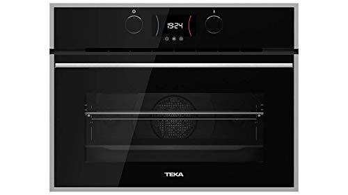 Teka | Horno compacto Multifunción SurroundTemp A+ de 45 cm | Color Cristal Negro