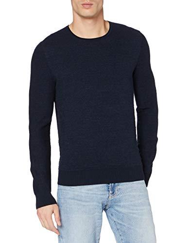 BOSS Komesrlo Sweater, Dark Blue404, XL Homme