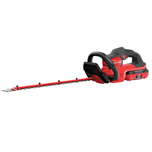 Save %12 Now! CRAFTSMAN V60 Cordless Hedge Trimmer, 24-Inch (CMCHTS860E1)